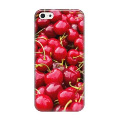 Чехол для iPhone 5/5s Вишенки