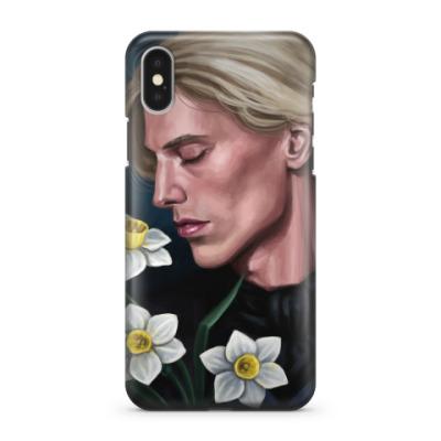 Чехол для iPhone X Гриндевальд и нарциссы