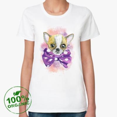 Женская футболка из органик-хлопка Чихуахуа