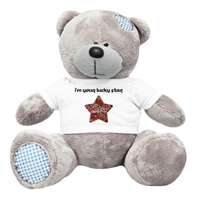 Плюшевый мишка Тедди I'm your lucky star
