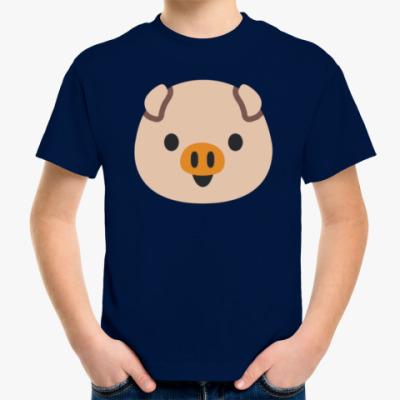 Детская футболка Piggy