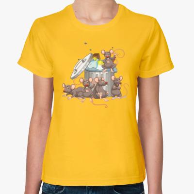 Женская футболка Год Крысы