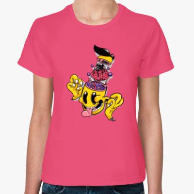 Женская футболка CRAZY BRAIN