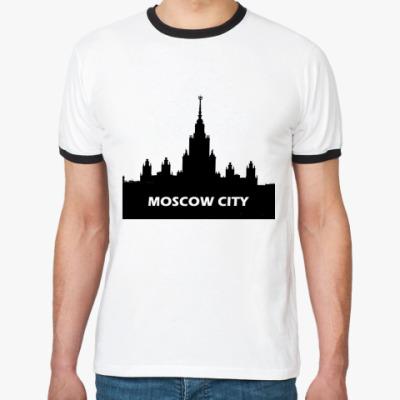 Футболка Ringer-T Moscow City ()