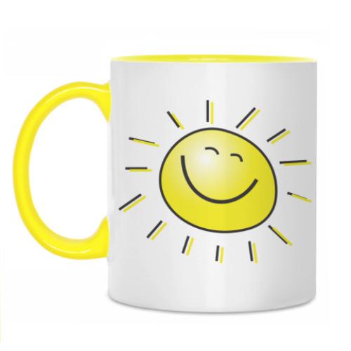 Кружка Солнце