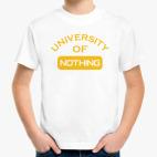University Of Nothing