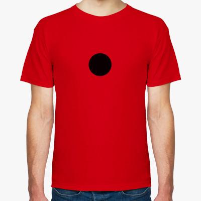 """Футболка Мужская футболка """"GRDK Dot"""", красная"""