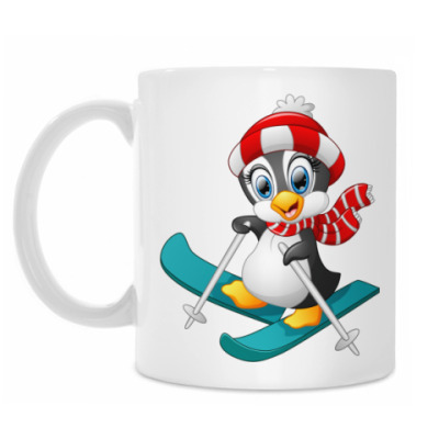Кружка Winter Pinguin