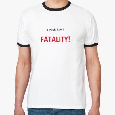 Футболка Ringer-T MK Fatality