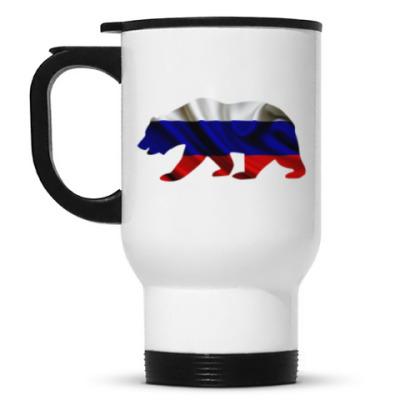 Кружка-термос Русский медведь