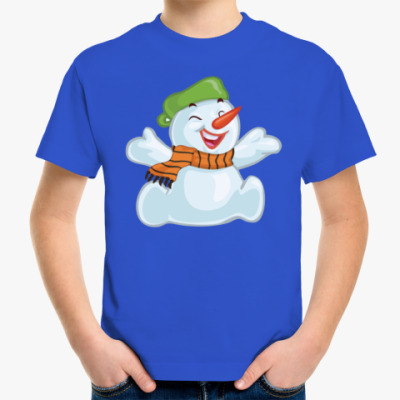 Детская футболка Снеговик