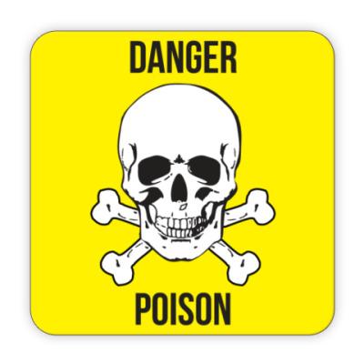 Костер (подставка под кружку) Poison