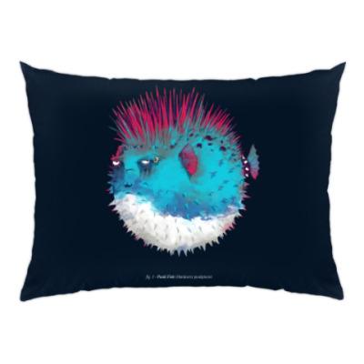 Подушка Брутальная рыба панк Punk fish