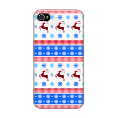 Чехол для iPhone 4/4s Новогодний сюрприз
