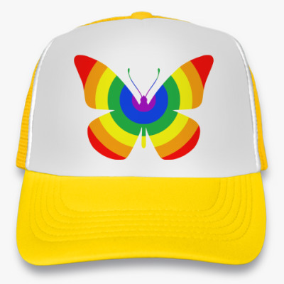Кепка-тракер Rainbow Butterfly