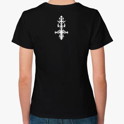 """Hypocrisy """"Catch 22"""",  Женская футболка, черная"""