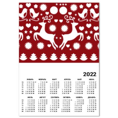 Календарь Новый год!
