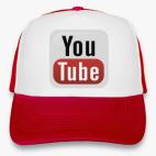 Кепка Trucker (красная) YouTube