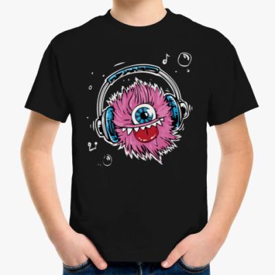 Детская футболка Music Monster