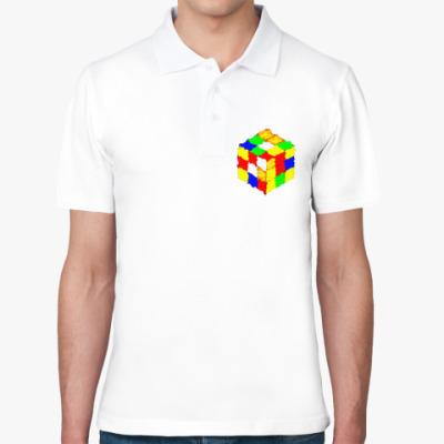 Рубашка поло Кубик Рубика