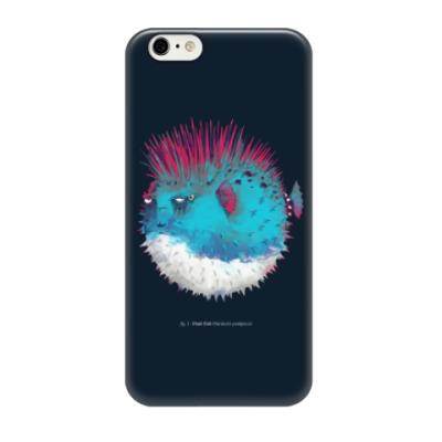 Чехол для iPhone 6/6s Брутальная рыба панк Punk fish