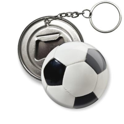 Брелок-открывашка Футбольный мяч