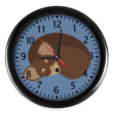 Настенные часы Sweet dog