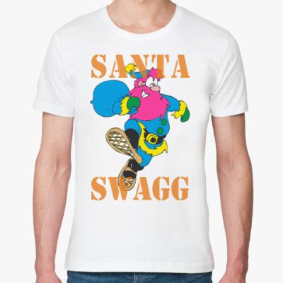 Футболка из органик-хлопка SANTA SWAGG