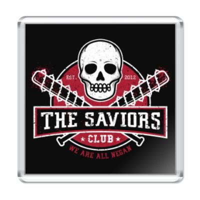 Магнит Walking Dead The Saviors TWD