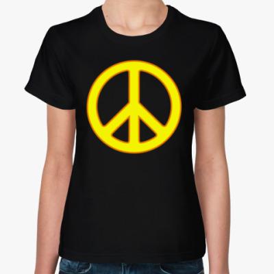 Женская футболка Хиппи