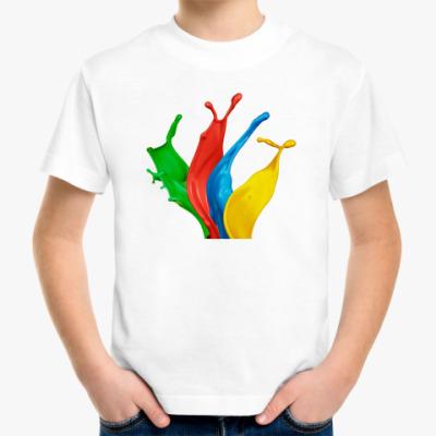Детская футболка ArtiShock Color