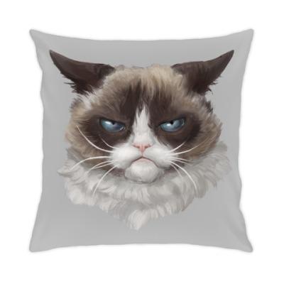 Подушка Grumpy Cat / Сердитый Кот