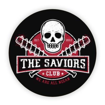 Костер (подставка под кружку) Walking Dead The Saviors TWD