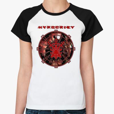 """Женская футболка реглан Hypocrisy """"VIRUS"""""""