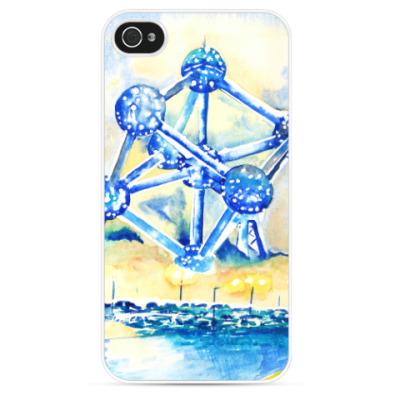 Чехол для iPhone Атомиум