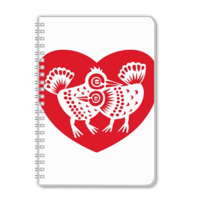 Тетрадь Птицы любви