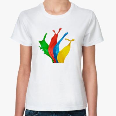 Классическая футболка  ArtiShock Color