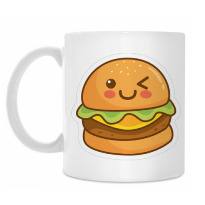 Кружка Cute Burger
