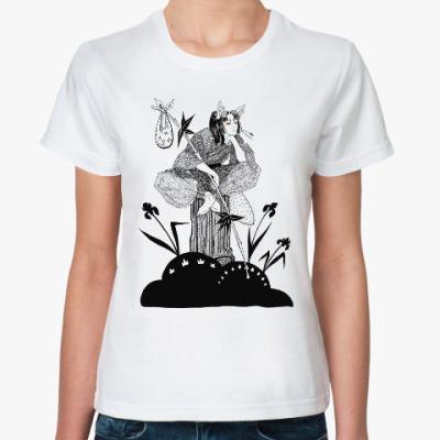 Классическая футболка Тануки