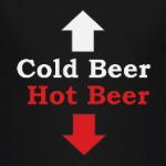 Cold beer. Hot beer.