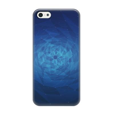 Чехол для iPhone 5/5s Воронка полигонов