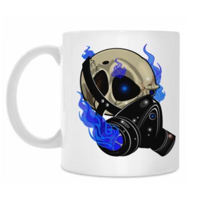 Кружка GasMask Skull