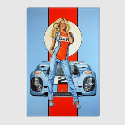 Холст Martini Racing Team - Grid Girls