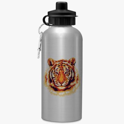 Спортивная бутылка/фляжка Тигр