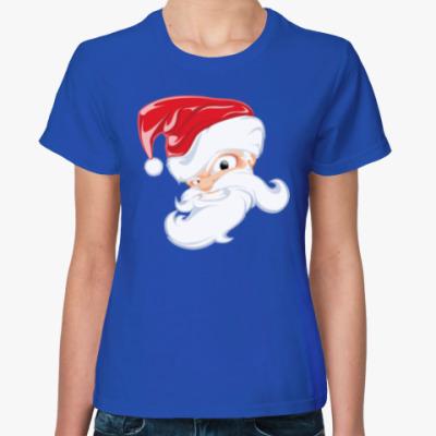 Женская футболка Брутальный Санта