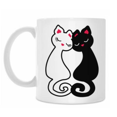 Кружка Влюбленные Кошки