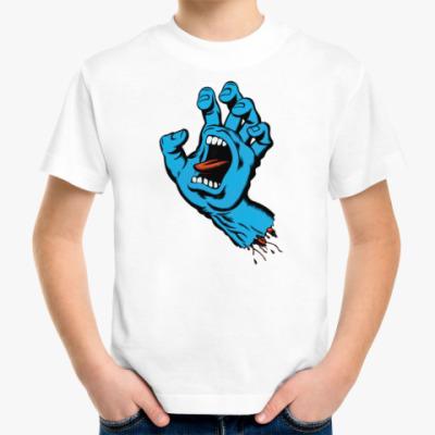 Детская футболка SCREAM PALM