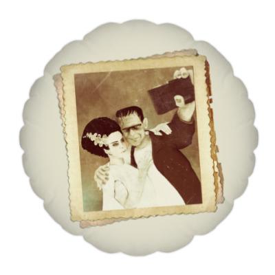 Подушка Монстр Франкенштейна и невеста