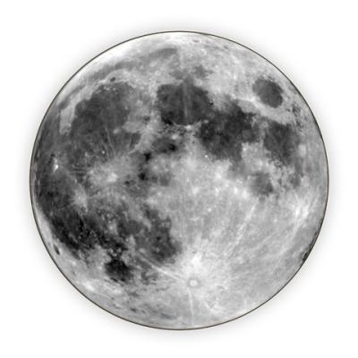 Костер (подставка под кружку) На Луне