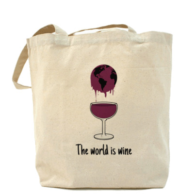 The world is wine
